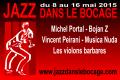 Festival dans l' Allier en 2015 et 2016