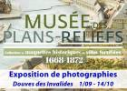Exposition de photographies de plans-reliefs : au coeur de la collection