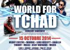 Concert world for Tchad