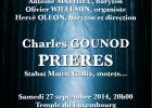 Charles Gounod : pri�res...