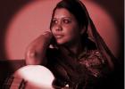 Sudeshna Bhattacharya sous le lune �tincellante