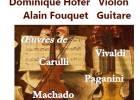 Duo Violon Guitare Dominique Hofer et Alain Fouquet