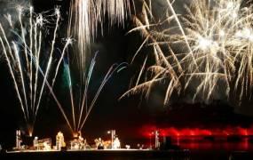 Pyroconcerts de Talloires 2014