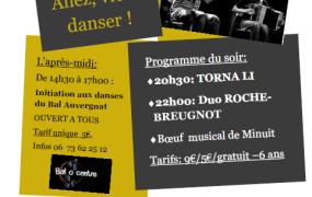 Concert Allez, viens danser !