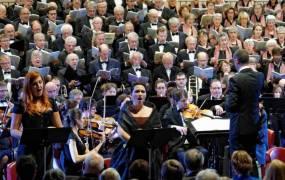 Concert �La 9�me Symphonie de Beethoven et le Te deum d'Anton Bruckner �