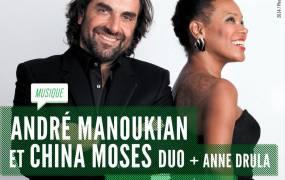 Concert Anne Drula et China Moses et Andr� Manoukian duo