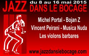 Jazz dans le Bocage 2015