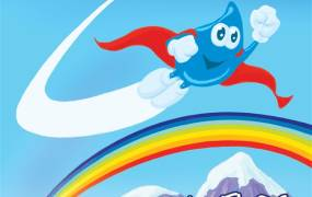 Spectacle Les aventures de Floc, Super goutte d'eau !!!