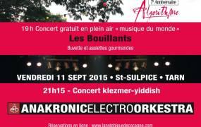 Concert Algorithme 7�me anniversaire
