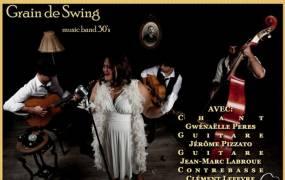 Concert Soir�e musique des ann�es 20's � 50's avec Grain de Swing !
