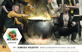 Concert Dubioza Kolektiv, Boris Viande et Baltic Balkan