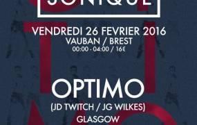 Concert Cabaret Sonique avec Optimo