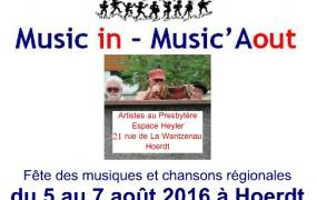 Festival Music in - Music'Aout 2016