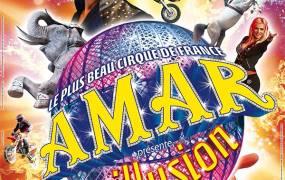 Spectacle Cirque Amar Illusion Rodez