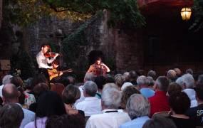 Festival de musique Conques, la lumi�re du Roman