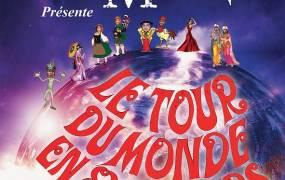 Spectacle Spectacle de magie Le Tour du Monde en 80 Tours