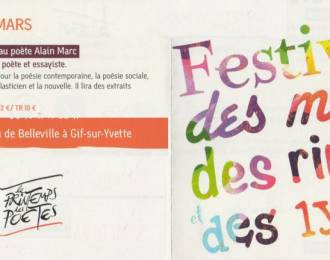 Carte blanche à Alain Marc