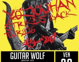 Guitar wolf et Uddu