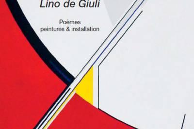 Sortie officielle d'En regard, sur Lino de Giuli d'Alain Marc à La Roche Guyon
