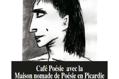 Café poésie Carte blanche à Alain Marc à Amiens