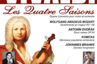 Vivaldi Les Quatre Saisons à Fontainebleau
