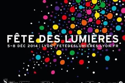 Fête des lumières à Lyon en 2014