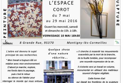 Peintures d'Isabelle DANSIN et Sculptures de Roman GORSKI à Montigny les Cormeilles
