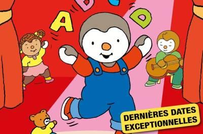 Tchoupi Fait Danser L'alphabet à Saint Quentin