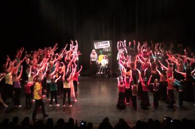 Tous en scène par Baila Gitana à Biscarrosse