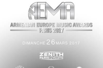Armenian Europe Music Awards à Paris 19ème