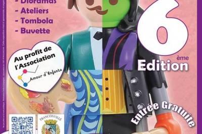 Exposition et Ventes de jouets Playmobil sur 2000m2 à Franconville