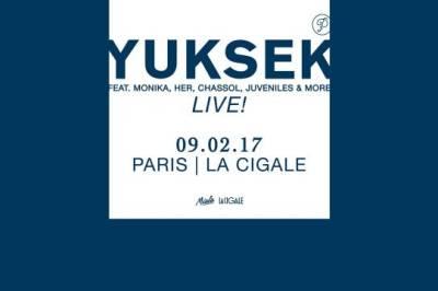 Yuksek Live à Paris 18ème