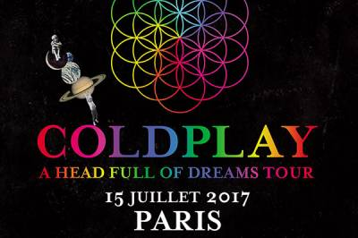 Coldplay à Saint Denis
