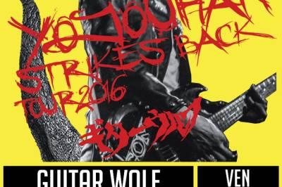 Guitar wolf et Uddu à Saint Jean de Vedas