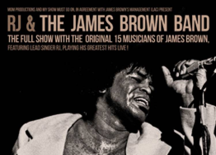 RJ and The James Brown Band � Courbevoie