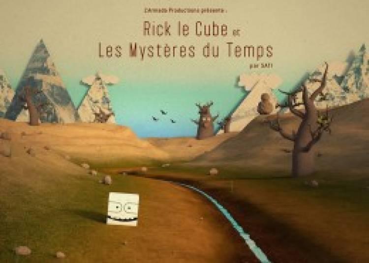 Rick le Cube et les Mystères du Temps à Paris la Défense
