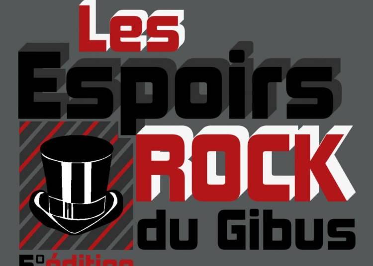 Les Espoirs Rock du Gibus 2016