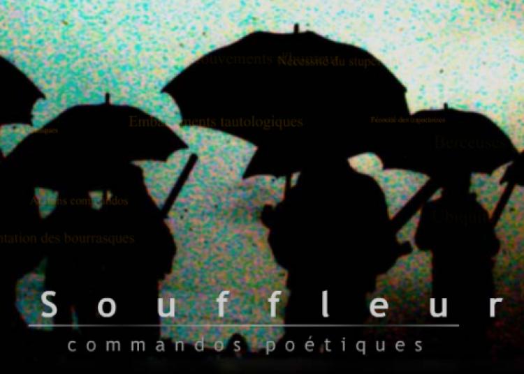 Les Souffleurs commandos poétiques à Chalon sur Saone