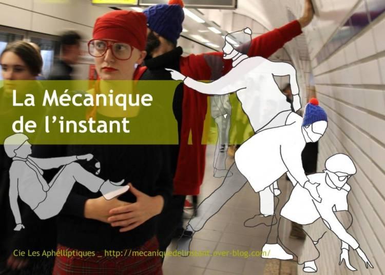 Compagnie Les Aphelliptiques - La mécanique de l'instant en déambulation à Chalon sur Saone