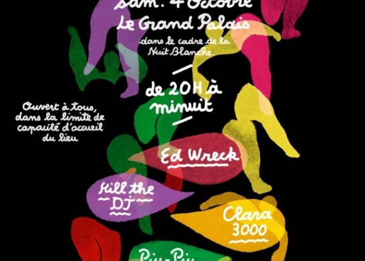 Nuit Blanche au Grand Palais � Paris 8�me