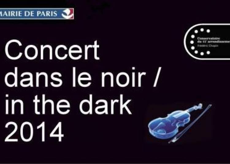 Concert dans le noir à Paris 15ème