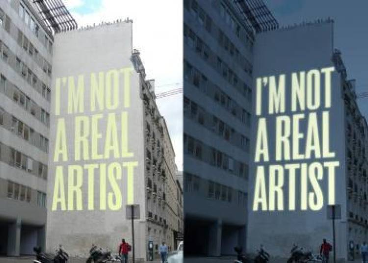 I'm not a real Artist � Paris 13�me