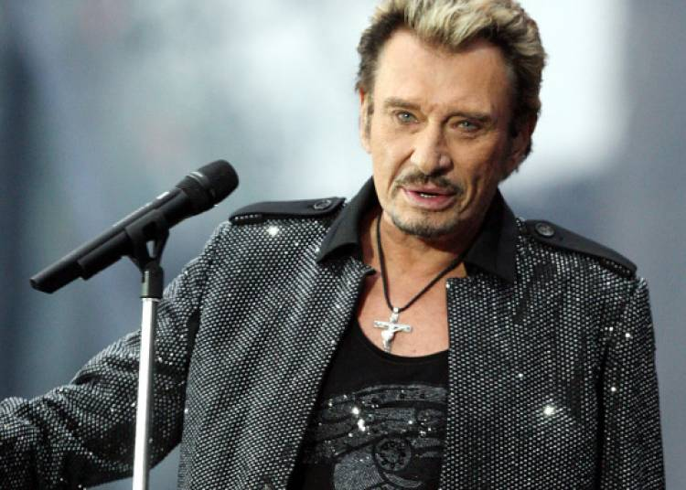 Johnny Hallyday � Paris 12�me