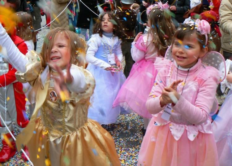 Carnaval des enfants à Menton