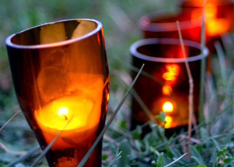 La promenade des lumignons du jardin d'Ornano à Lyon