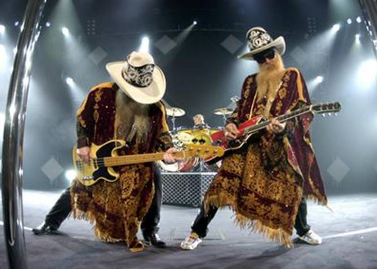 Zz Top � Paris 19�me