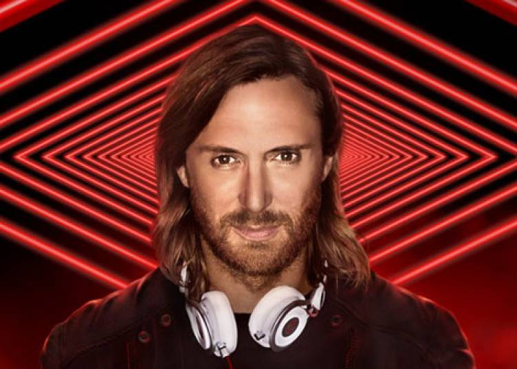 David Guetta � Paris 12�me