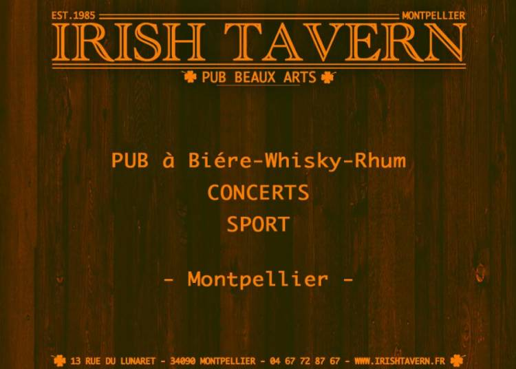 Irish Live � Montpellier