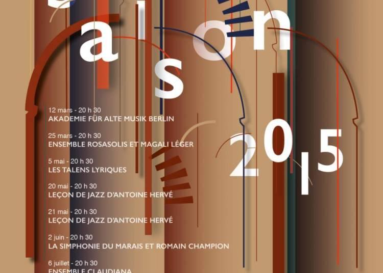 Simphonie du Marais & Romain Champion Concert du Printemps � Angers