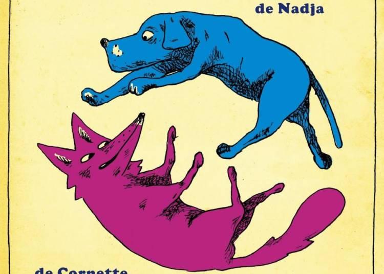 Chien bleu / coyote mauve � Toulouse